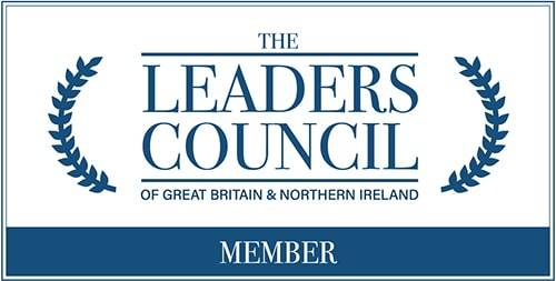 leaders council logo white