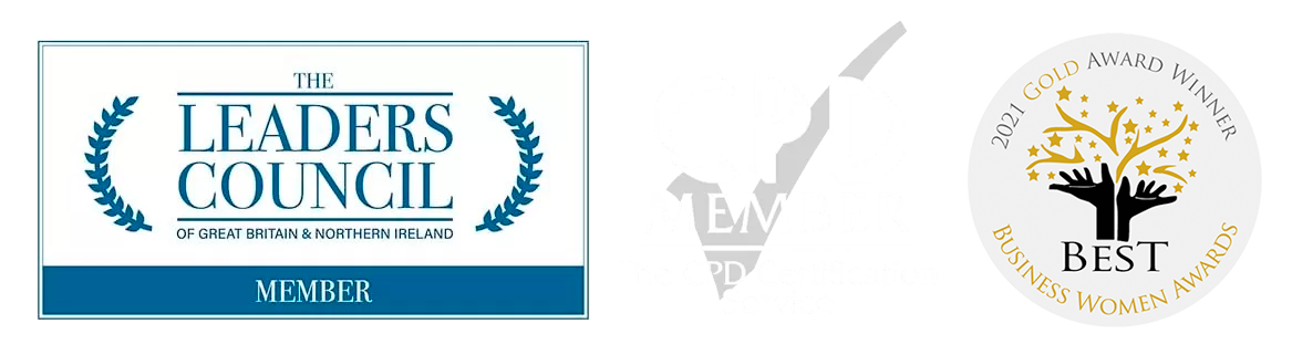 leaders council & CPD logo white